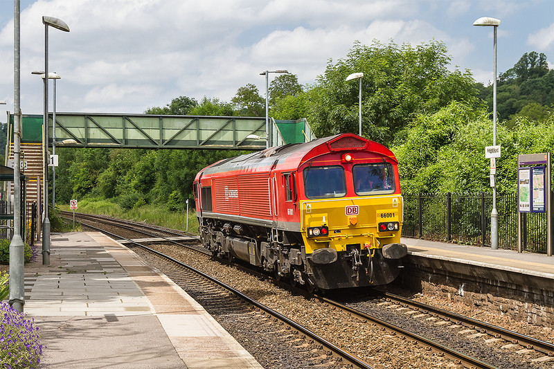 21st Jun 14:  The Saturday convoy fron Margam to Westbury or Eastleigh can load up to 10 locos although  it is usually  about 5.  The maximum that I have pictured is 9 however today it was just number one that greeted me at Freshford.