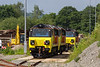 11th Jun 14:  My first picture of newly delivered 70810 on the old fueling point siding at Westbury