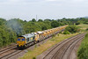 26th Jun 14:  66560 is returnig to Fairwater Yard with the loaded HOBC from the Virtual Quarry at Westbury