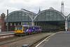 3rd Jun 14: 142078 on the 12.32 to Saltburn departing  from Platform 2 at Darlington