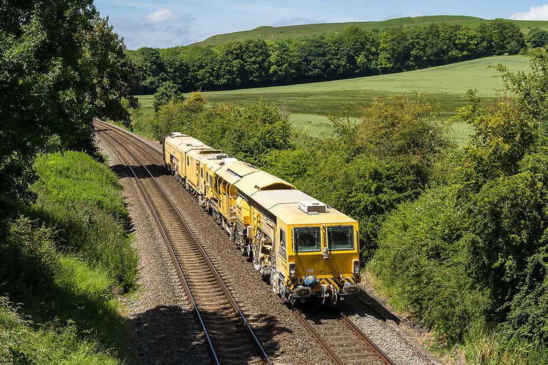 19th Jun 14:  Having started for m Andover and  visited Exeter Tamper DR77903 is pictured at Norton Bavant on it's way back to Andover