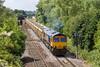 23rd Jun 14:  Captured leaving Westbury is 66704 working 6M40 to Stud Farm