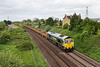 10th May 14:  Running through Thingley is 66563 working 6Y08 from Hinksey to Abbotswood Junction