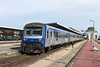20th May 14:  SNCF DMU 4912 stands in Platform 3 at Dieppe whiilst it is being cleaned