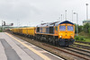 7th May 14:  66731 starting the journy to Stud Farm from Westbury.  66554 lurks in the distance