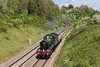 15th May 14:  Heading for the West Somerset Railway from Kidderminster is GWR 'Hall' Class 4936 'Kinlet Hall'