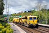 12th May 14:  Charging through Freshford are NetworkRail Tampers DR77903 and DR 73111.  They are working from Worcester Shrub Hill to Salisbury