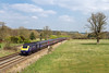 8th Apr 2015:  Racing the grounds of Brimslade Farm near Wooton Rivers is 1C84 the 14.06 Paddington to Penzance.  On the front is 43191