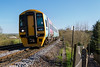 14th Apr 2015:  Yet another shot of the Gunwhatj Quays unit 158798, this time at Dilton Marsh with 1F26 the 15.23 From Portsmoouth Harbour to Cardiff Central.  The 141 miiles with 16 intermediate stops takes 3 hours and 20 minutes