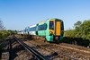27th Apr 2015:  377153 at Warningcamp when working 1C11 the 07.55 Bognor to Victoria via Horsham