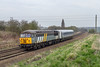 10th Apr 2015:  56301 Is moving a refurbished Chiltern Mk 4 back to Wembley,  Captured at Hawkeridge