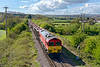 30th Apr 2015:  Heading along the branch through Wanstrow is 59204 on the point od 7A15 the 16.16 from Merehead to Acton