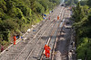 18th Aug 2015:  Bathampton Junction with all the new trackwork in place