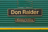 15th Dec 2015:  Freightliner 66527 name plate 'Don Raider' and sunsidiary plare 'Raider Class'