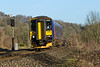 18th Feb 2015: 153368 scoots along through Limpley Stoke as 2C10 the 09.07 from Bristol Temple Meads to Westbury.