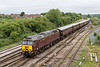 14th Jul 2015:  57315 arriving at Westbury to Stable the stock of the ' Royal Scotsman' tour  This had worked earlier from Gloucester to Bath via Birmingham.  47854 at the rear will later take the stock back to Bath where it will reverse  and continue the  tour to Oxford