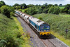 28th Jul 2015:  59004 is powering 7B12 from Merehead to Wootton Bassett through Broughton Gifford