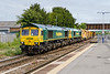 29th Jun 2015:  66599 witrh 66851 DIT leave the siding with 7C73 the refilled HOBC back to Taunton Fairwater Yard