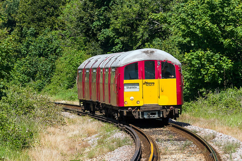 4th Jun 2015:  Arriving at Shanklin is 453007 working 2O37 the 14.49 from Ryde Pier Head