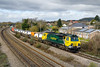 26th Mar 2015:  Missed the sun for this one unfortunately 70007 in charge of 4O51 from Wentloog to Southampton at Magor