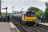 20th May 2015:  Colas Tug 60085 at Barnetby with 6E32 from Preston Docks to Lindsey