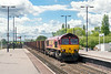 20th May 2015:  Catching some sun is runs east through Barnetby is 66120  on 6K24 empty Iron Ore tipplers from Stanton to Immingham. In the 5 hours that I was in the area this was the only freight that was in the sun.