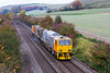 27th Oct 2015:  D 98964 and DR98914 near Heytrsbury on the return leg of 3S80s trip to Warminster from Salisbury