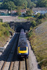 2nd Oct 2015:  A Great Western Railway HST running 1B28 the 11.45 from Paddington to Swansea exits the 2 1/2 mile long Chipping Sodbury Tunnel