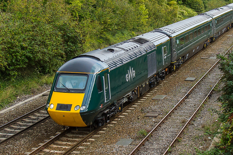23rd Sep 2015:  43187 in the new Great Wesstern Railway livery
