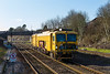 28th Jan 2016:  Network Rail Plasser Tamper DR73116 captured at Filton Abbey Wood as forming 0Z37 it Works from Taunton to Rugby
