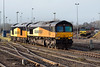 23rd Jan 2016:  2 X 47s plus 5 x 70s but no Duffs !!  60047, 66847, 70810 plus 08,04,05 01   (not sure of the order of the last four)