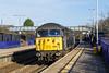 28th Jan 2016:  Dashing south through platform 1 at Filton Abbey Wood is 56312.  0Z56 is running fron Washwood Heath Metro Cammel to Bristol Barton Hill
