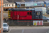 13th Jan 2016:  The new works shunter 08611 that had, I was told,  arrived earlier in the morning