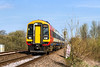 12th Apr 2016:  159003 is working SWT service 1O32 the 08.51 from Bristol Temple Meads to Salisbury. Here  join with 1L32 from Exeter and continue to Waterloo.  The location is Arne View foot crossing on the outskirts of Warminster
