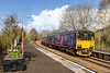 29th Apr 2016:  150130 arriving at Warminster with 2O08 the 11.11 from Westbury to Southampton on a morning of full sun or heavy sleet showers.  Luck was in for this one.