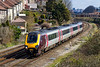 5th Apr 2016:  Rounding the curve at Parson Street  in the South West of Bristol is a Virgin 220xxx forming 1V47 the 08.07 from Manchester Picadilly to Paignton