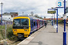 23rd Apr 2016:  Resting  in Bay Platform 3 at Newbury is 166215. that will depart  at 14.13 with the all stations to Reading
