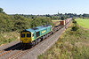 15th Aug 2016:  66593 is hauling 4M61 from Southampton to Trafford Park through Kings Sutton
