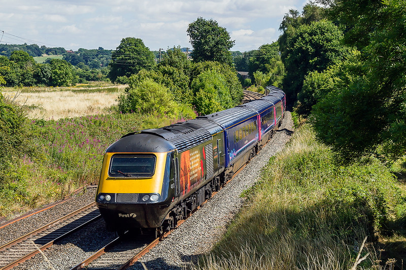6th Aug 2016:  43172 'Harry Patch' is  leading on 1C80 the 11.35 Paddington to Newquay at Lavington.  This was a welcome bonus as I was on the bridge to picture a train coming the other way due a few minutes later.