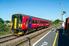 30th Aug 2016:  The Westbury to Warminster local service is usually formed of a 2 Car 150 so I was surprised when 153325 'Citizen rail.Org'  passed my lens as I waited to see what was working the light engine move from Eastleigh. Tthis would tell me what was  going to be on the Stud Farm later in the morning .  In fact it was 66761 and that was on my 'must fot' list.