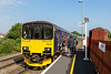 17th Aug 2016: 2F94 is the 10.08 from Westbury to Warminster today formed of 150131.    It is quite rare for no one to get on or off at this halt that was made famous when Sir John Betjeman wrote a poem about it's survival.