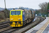 15th Dec 2016:  A pleasant surprise while waiting for the  kettles to Yeovili was the appearance of the South West Trains opperated 3\z81 MPV RHTT  DR98922/98972.  Most of the Rail Head Treatment Trains seem to have halted  but apparently the line to Andover will require treatment for a while longer yet