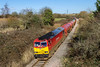18th Feb 2016:  Plodding down the old Midland Main Line is 60074 trusted with 6B13 the 05.00 Murco Tanks from Robeseon to Westerleigh Oil Terminal