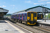 18th Jul 2016:  Leaving Westbury is 150938 on the front of 1V94 the 08.59 from Brighton to Great Malvern