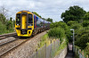 21st Jul 2016:  158961 climbing through Dilton Marsh with 1F07 the 08.30 Cardiff to Portsmouth Harbour