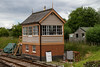 25th Jun 2016:  The new signal box at Littlehempston is nearly completed and hasall the signalling woking.  It was originally at Cradley Heath and will eventually be named Ashburton Junction Signal Box.