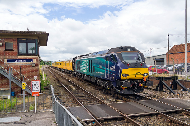 30th Jun 2016:  1Q23 arriving at Gillingham as it works back to Salisbury from Exeter