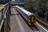 21st Mar 2016:  From a viewpoint that will shortly be lost for ever  158950 runs through Sydney Gardens while working 1F13 the 11.30 from Cardiff to Portsmouth Harbour.  In the distance a young mum holds her son who loves to watch the trains and was devestated to learn what was about to happen to the area within the next few months as the line will close for electrification work to be undertaken and these views will be gone for ever..