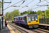 7th May 2016:  142014 arriving at Outwood with 2N27 the 13.48 from Leedsd to Sheffield