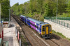 7th May 2016:  Pictured at Woodlesford is158842 forming 1L89 the 14.40 from Leeds to Sheffield via Wakefield
